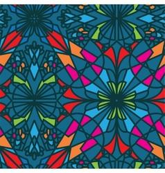Seamless pattern beautiful decorative arabesque vector image