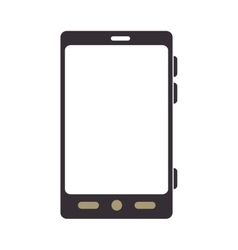 smartphone screen mobile phone technology vector image