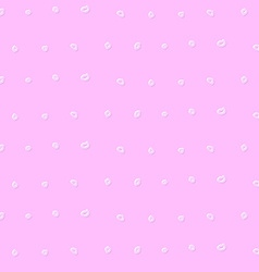 Polka dots in vintage style vector image vector image