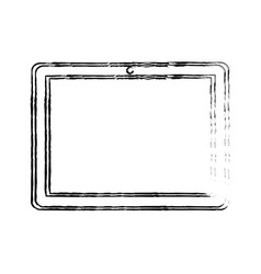 tablet mobile technology vector image vector image