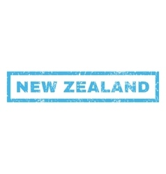 New Zealand Rubber Stamp vector image vector image