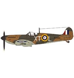 Spitfire vector image vector image