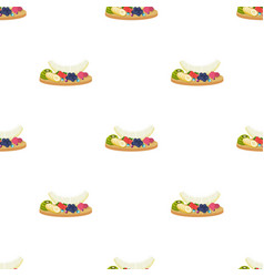 a set of various delicious fruits fruit single vector image