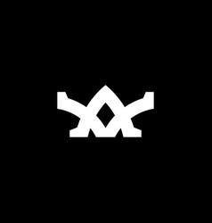 Abstract monogram letter a logo icon design vector