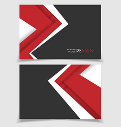 brochures templates vector image