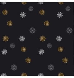 Christmas backdrop Winter pattern Season elegant vector