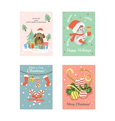 Christmas Cards 7 vector