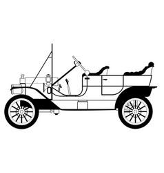 Classic automobile vector