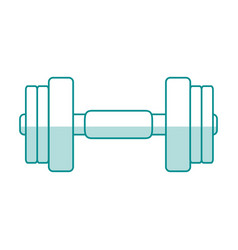 gym machines shadows vector image