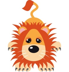 lion vector illustration vector image