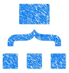 scheme grunge icon vector image