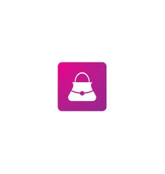 Shop logo icon vector