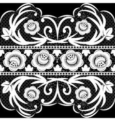 white ribbon vector image vector image