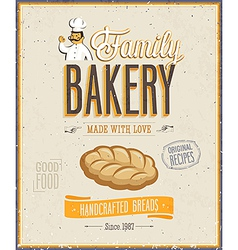 bakery2 vector image vector image
