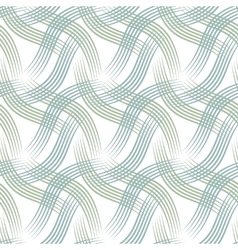 Seamless background with curves vector image