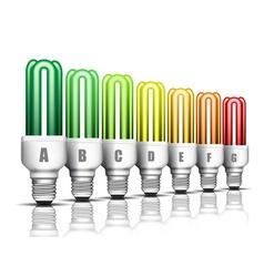 Eco bulbs vector