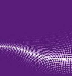Halftone background lilac vector