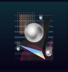modern cover design vector image