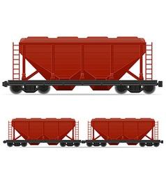 railway carriage 05 vector image vector image