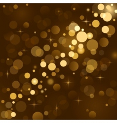 magic lights background vector image vector image