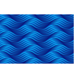 Abstract blue wave background in asian style vector