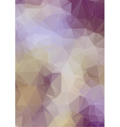 abstract composition with ceramic geometric shapes vector image