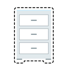 Archive office icon image vector