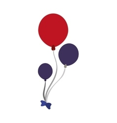 balloons air usa celebration vector image