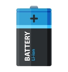 Batterie icon isolated vector