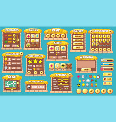 Game gui 54 vector