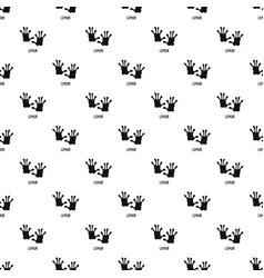 lemur step pattern seamless vector image