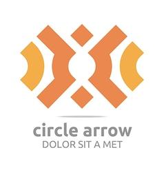 Logo Design Letter Arrow Icon Symbol Abstract vector