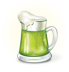 Mug of ale vector