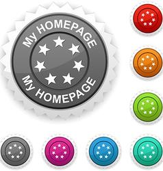 My homepage award vector
