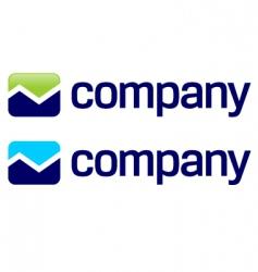 Stock market arrow logo vector