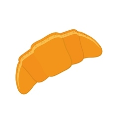 single croissant icon vector image