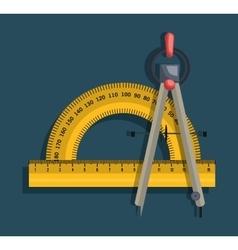 Architecture tools design vector