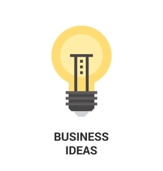 Business ideas icon concept vector