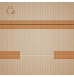 Cardboard vector
