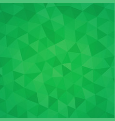 green triangle abstract background - polygonal vector image