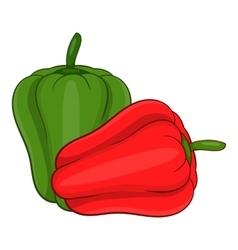 Paprika icon cartoon style vector image