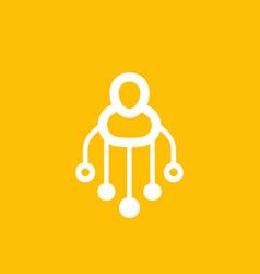 Stockholder icon pictogram vector