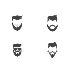 style haircut icon vector image