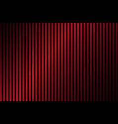 red and black lines abstract background vector image