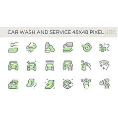 Car care service icon 48x48 pixel perfect vector
