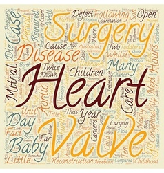 Congenital Heart Disease Open Heart Surgery For vector image