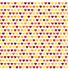 heart pattern seamless love background vector image