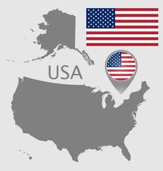 usa blank map vector image