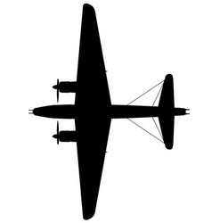 Vickers-armstrong wellington xiv top vector