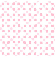 pink squares seamless pattern vector image vector image